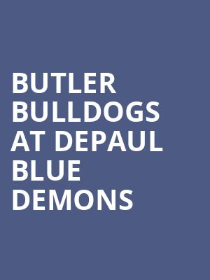 Butler Bulldogs at DePaul Blue Demons at All State Arena