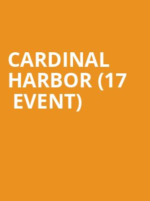 Cardinal Harbor (17+ Event) at Beat Kitchen