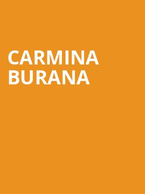 Carmina Burana at Symphony Center Orchestra Hall