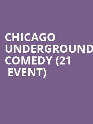 Chicago Underground Comedy (21+ Event) at Beat Kitchen