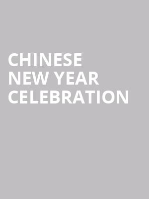 Chinese New Year Celebration at Symphony Center Orchestra Hall
