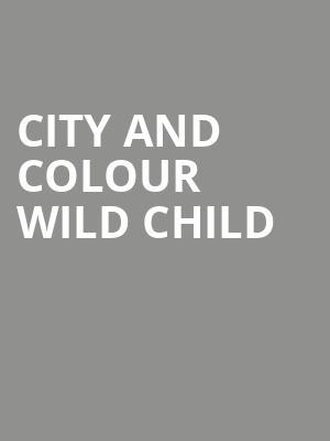 city and colour wild child marrow tickets calendar oct 2018