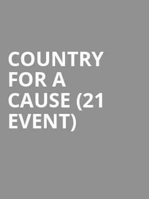 Country For A Cause (21+ Event) at Joes Bar On Weed Street