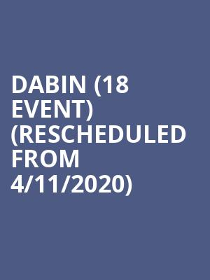Dabin (18+ Event) (Rescheduled from 4/11/2020) at Concord Music Hall