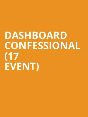 Dashboard Confessional (17+ Event) at Reggie