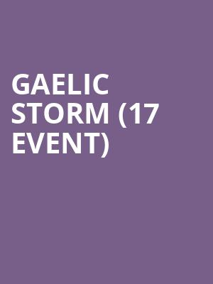 Gaelic Storm (17+ Event) at House of Blues