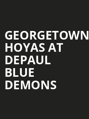 Georgetown Hoyas at DePaul Blue Demons at All State Arena
