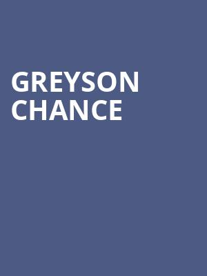 Greyson Chance at Bottom Lounge