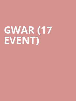 Gwar (17+ Event) at Concord Music Hall