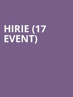 Hirie (17+ Event) at Beat Kitchen