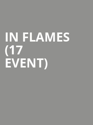 In Flames (17+ Event) at Concord Music Hall