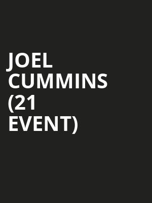 Joel Cummins (21+ Event) at The Tonic Room