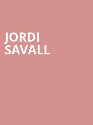 Jordi Savall at Symphony Center Orchestra Hall