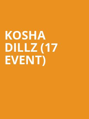 Kosha Dillz (17+ Event) at Beat Kitchen