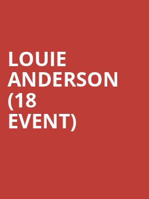 Louie Anderson (18+ Event) at Chicago Improv