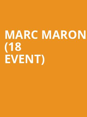Marc Maron (18+ Event) at Vic Theater