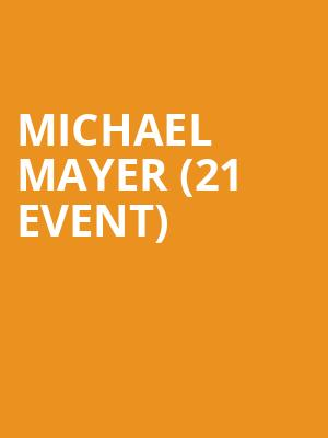 Michael Mayer (21+ Event) at Metro Smart Bar