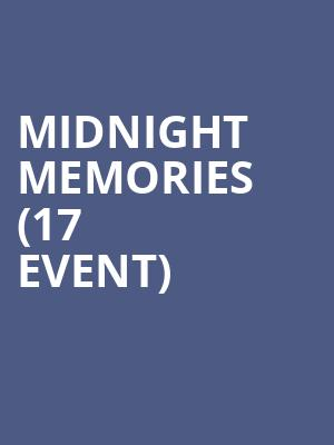 Midnight Memories (17+ Event) at House of Blues