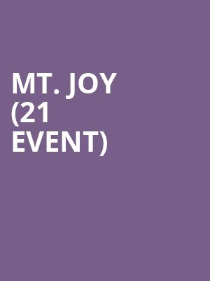 Mt. Joy (21+ Event) at Metro Smart Bar
