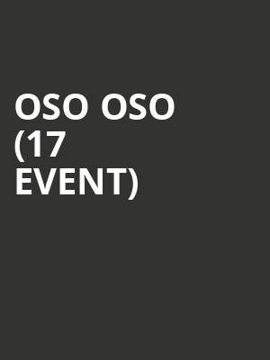 Oso Oso (17+ Event) at Beat Kitchen