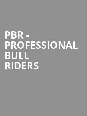 PBR - Professional Bull Riders at All State Arena