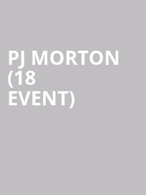 PJ Morton (18+ Event) at Concord Music Hall