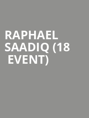 Raphael Saadiq (18+ Event) at Vic Theater