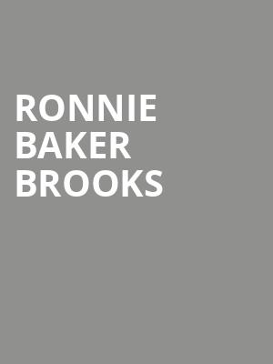 Ronnie Baker Brooks at City Winery