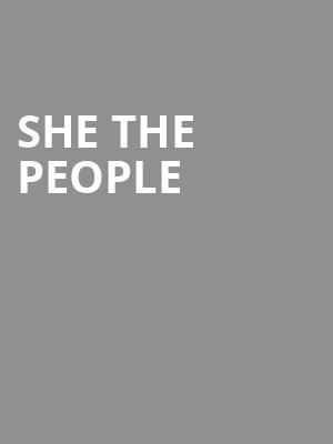She The People at Up Comedy Club