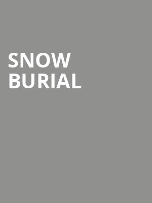 Snow Burial at Cobra Lounge
