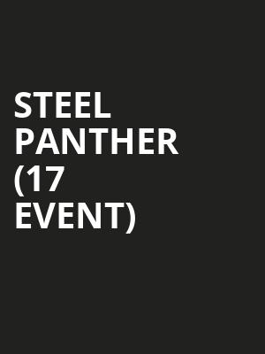 Steel Panther (17+ Event) at House of Blues