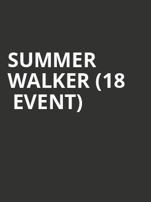 Summer Walker (18+ Event) at Riviera Theater