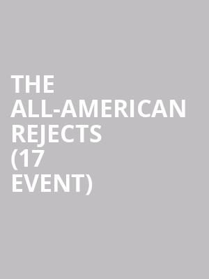 The All-American Rejects (17+ Event) at Concord Music Hall