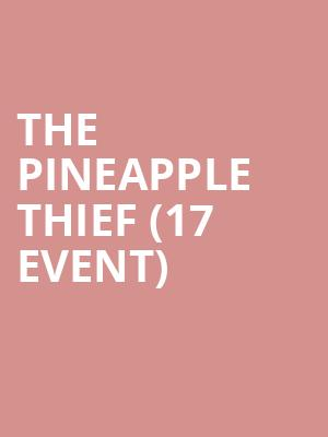 The Pineapple Thief (17+ Event) at Bottom Lounge