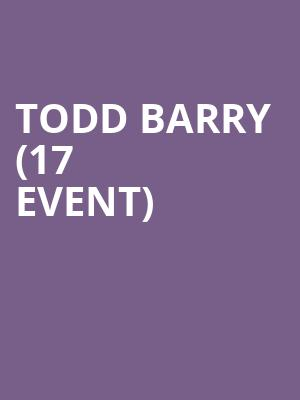 Todd Barry (17+ Event) at Thalia Hall