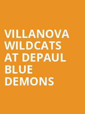 Villanova Wildcats at DePaul Blue Demons at All State Arena