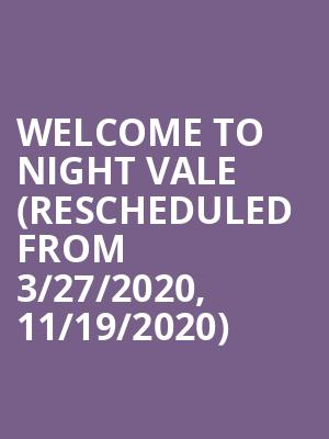 Welcome To Night Vale (Rescheduled from 3/27/2020, 11/19/2020) at Athenaeum Theater