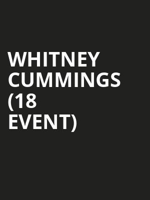 Whitney Cummings (18+ Event) at Vic Theater