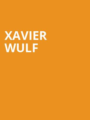 Xavier Wulf at Bottom Lounge