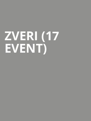 Zveri (17+ Event) at Concord Music Hall