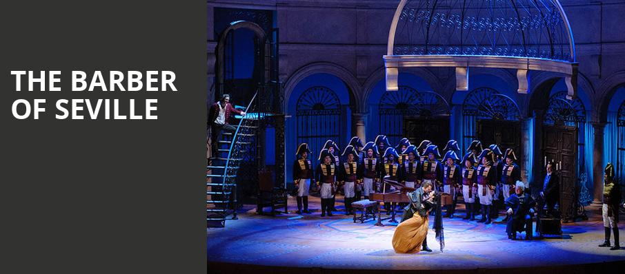 The Barber Of Seville, Civic Opera House, Chicago