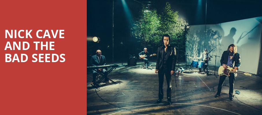 Nick Cave and The Bad Seeds, Auditorium Theatre, Chicago