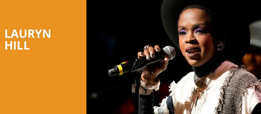 Lauryn Hill, The Chicago Theatre, Chicago