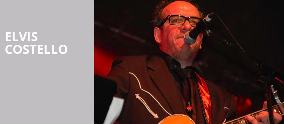 Elvis Costello, The Chicago Theatre, Chicago
