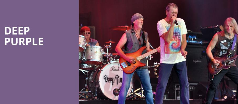 Deep Purple, Rosemont Theater, Chicago