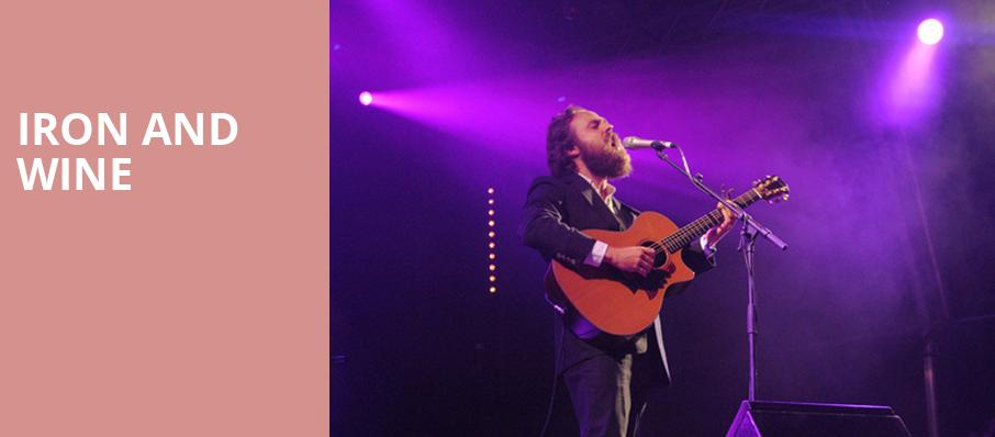 Iron and Wine, Thalia Hall, Chicago