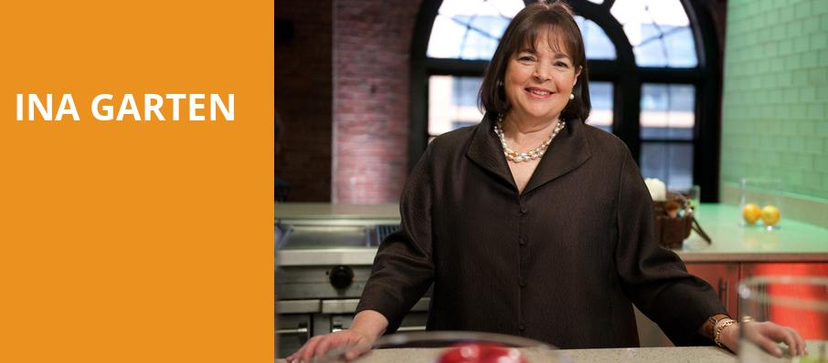 Ina Garten, The Chicago Theatre, Chicago
