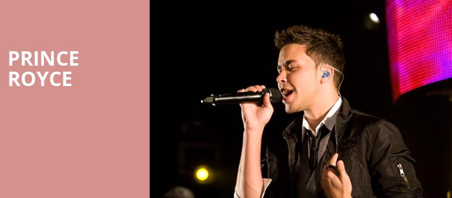 Prince Royce, Rosemont Theater, Chicago