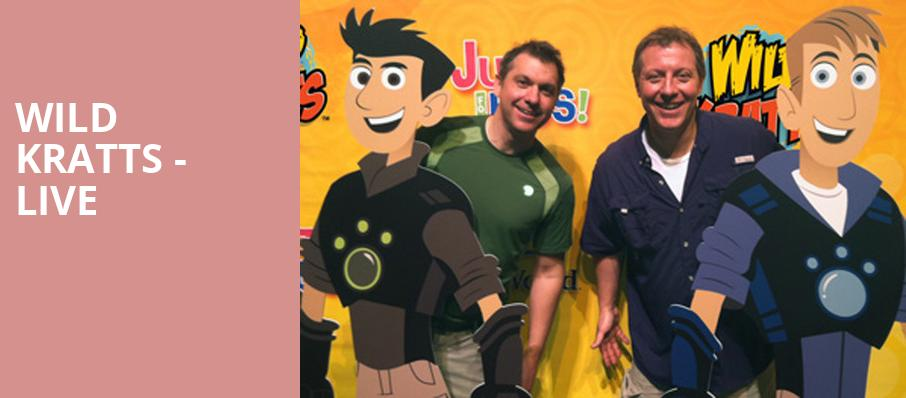 Wild Kratts Live, Rosemont Theater, Chicago