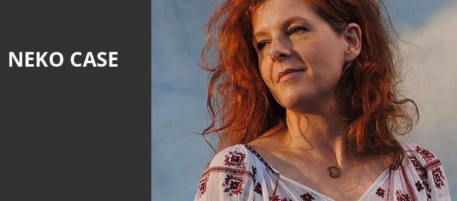 Neko Case, Vic Theater, Chicago